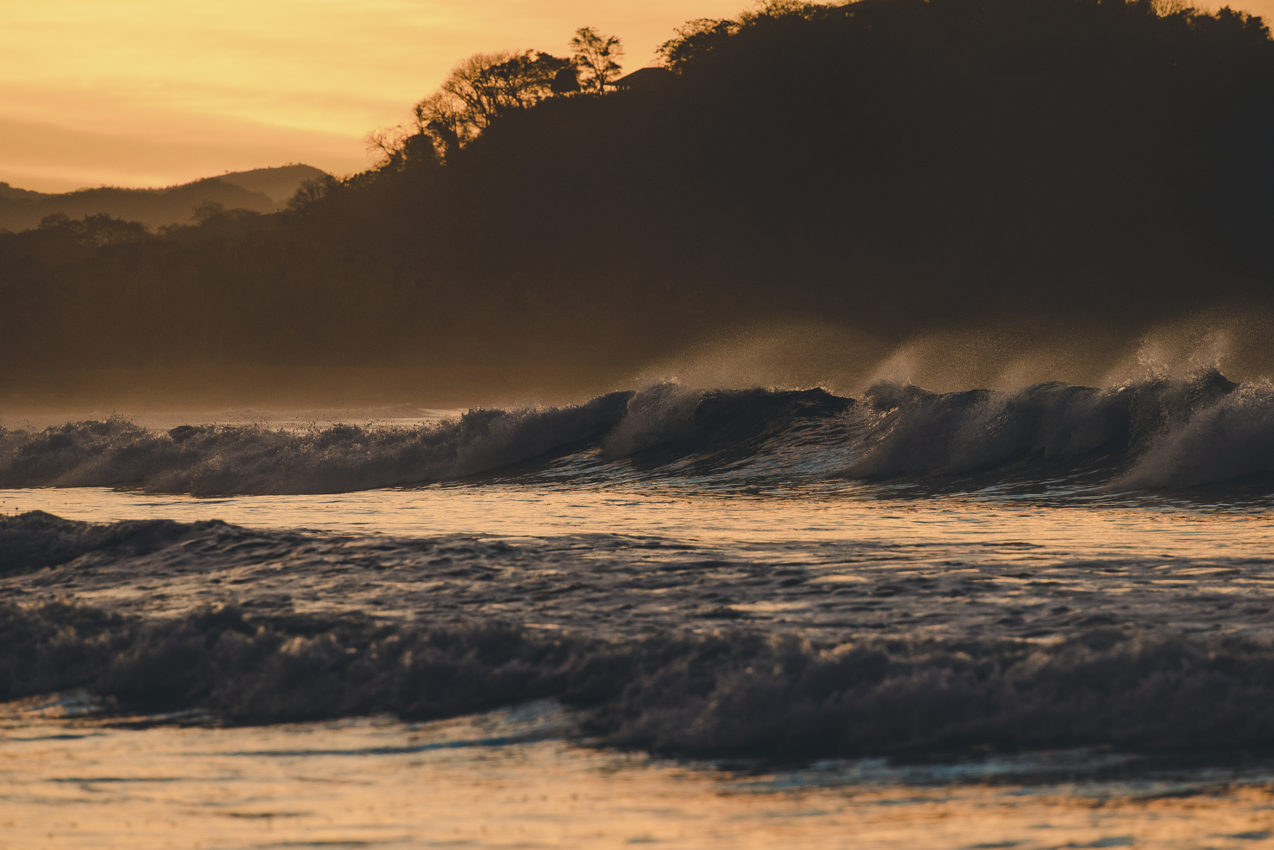 Waves in Costa Rica