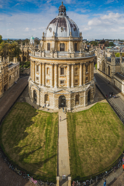 A view of Radcliffe Camera