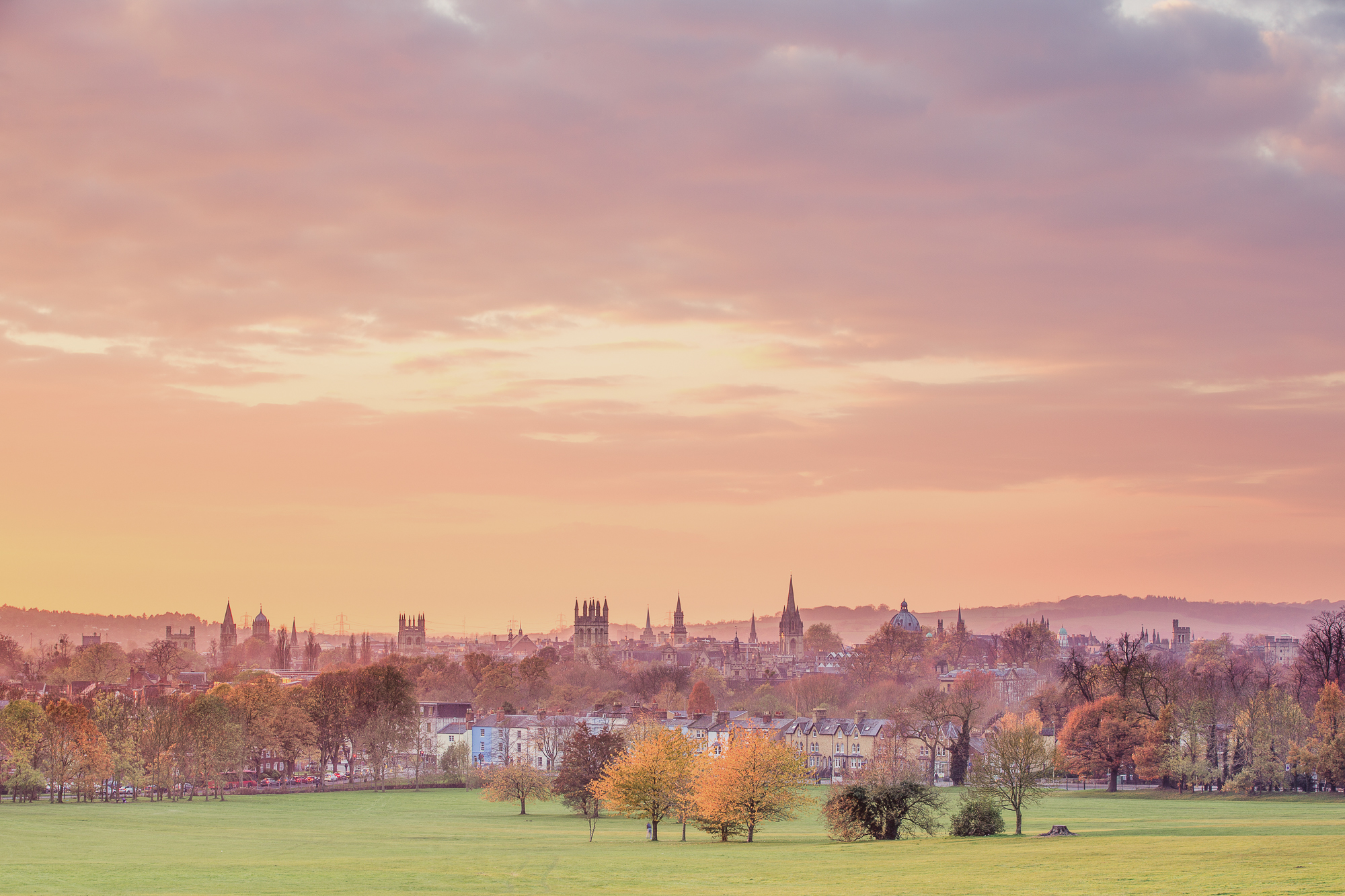 Oxford at Sunrise