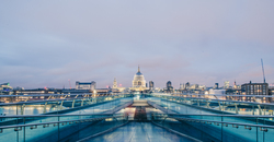 A view of st pauls