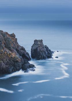 Rock Stacks in Guernsey