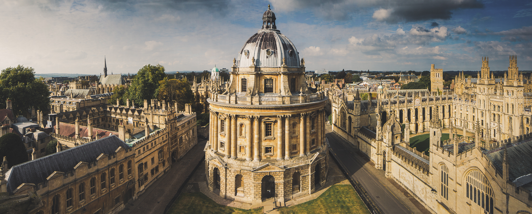 Photograph of the Bodleian Librabry
