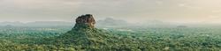 Landscape of Sri Lanka Lion Rock
