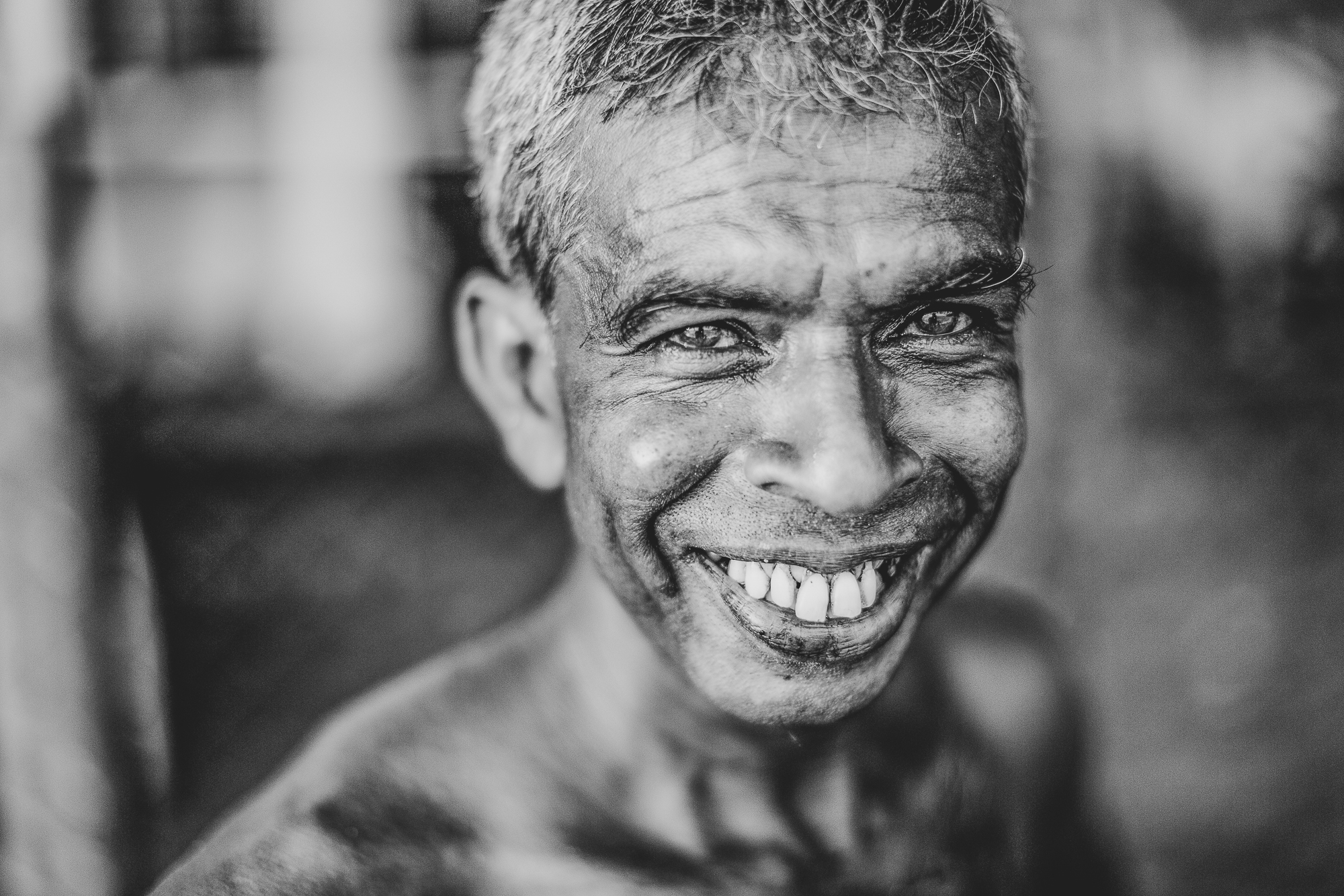 Portrait of a Sri Lankan Man