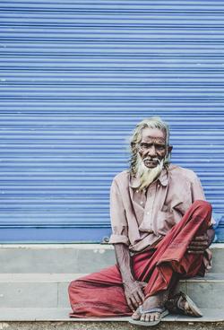 Portrait of Sri Lankan Man