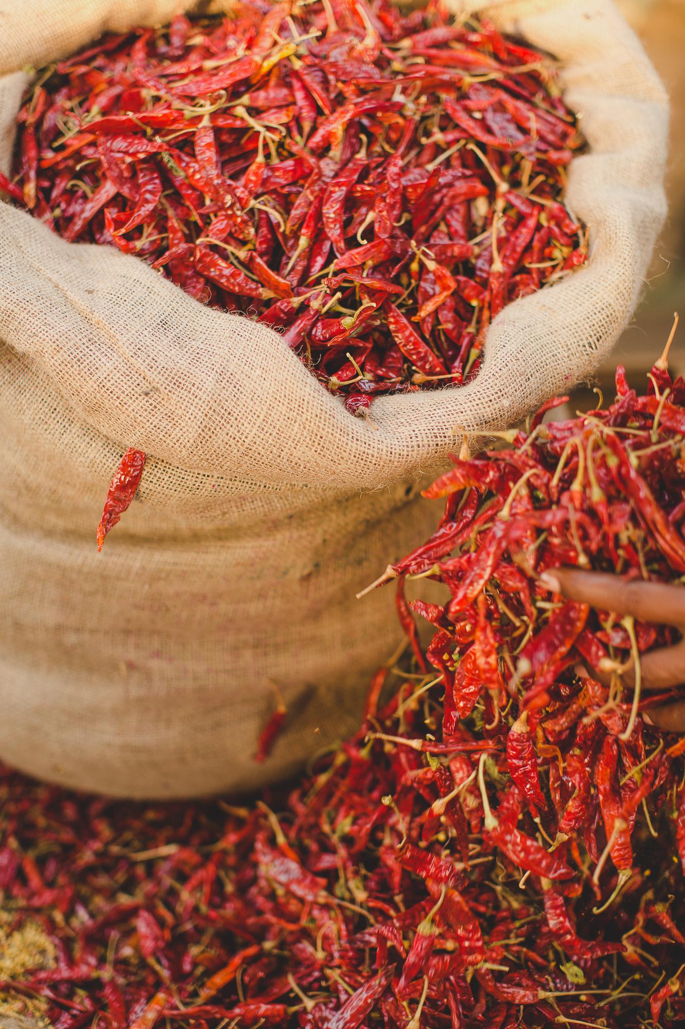 Dried Chilli's